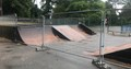 Photo of damage skatepark