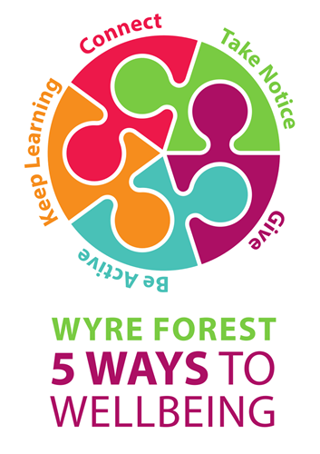 LOGO: Wyre Forest 5 ways to wellbeing